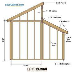 Clerestory Shed Plans Blueprints For Erecting Storage Shed Diy Storage Shed Plans, Wood Shed Plans, Storage Sheds, Barn Plans, Pallet Barn, Backyard Sheds, Garden Sheds, Greenhouse Shed, Studio Shed