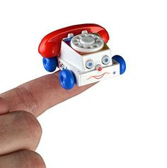 Chatter Telephone Miniature Edition- Pocket Sized Toy Phone Includes F – Pretendtimetoys
