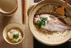 Japanese food -Taimeshi (Sea Bream Rice)-: photo by bananagranola (busy), via Flickr