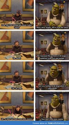 - FunSubstance We NEED to talk about Shrek more.<-- Shrek is love, Shrek is life (; <<< not like that << DEFINITELY not like that!We NEED to talk about Shrek more.<-- Shrek is love, Shrek is life (; <<< not like that << DEFINITELY not like that! Disney Pixar, Disney And Dreamworks, Disney Memes, Disney Animation, Punk Disney, Disney Facts, Animation Movies, Fiona Y Shrek, Shrek 2