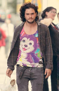 Kit Harington | Your Favorite Celebs Decked Out In Lisa Frank