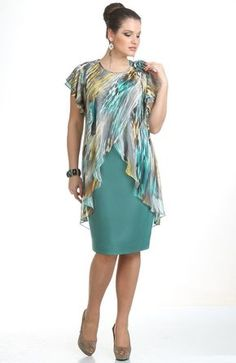 платья из льна для полных женщ |  Mello