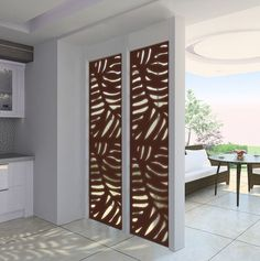 Fancy Privacy Screen Ideas for Your Home Interior Design - Decorate Your Home Privacy Screen Outdoor, Privacy Panels, Fence Panels, Pergola Screens, Diy Pergola, Gazebo Roof, Folding Screens, Metal Garden Fencing, Fence Garden