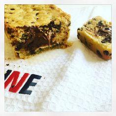 Coeur nutella cookies géant