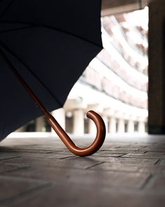Our Classic range of London Undercover umbrellas have a maple solid stick shaft/handle.