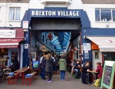 London Life - Brixton Village - One of the most amazing places to eat - you'll find every type of food!