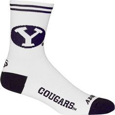 Brigham Young Cougars NCAA Cycling Socks (Large/X-Large)