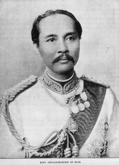 King Rama V of Siam, c.1897  aka Chulalongkorn the Great // remembered for saving Siam (now Thailand) from the colonial expansionism of the British & French Empires in Asia