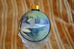 Custom Made Hand Painted Ornaments