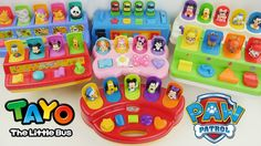 POP UP Toys Bonanza! Paw Patrol Tayo the Little Bus Mickey Mouse Club House LEARN COLORS Counting.  This is an educational learning video with toys that can help with eye-hand coordination fine motor skills and learning English as a second language (ESL).  Subscribe here to never miss a video: https://www.youtube.com/channel/UCsRW8ikkc-uISUXtNKBfFcw?sub_confirmation=1  - Watch my last video: https://youtu.be/OaSyTy05OXI  Sparkle Spice is a channel where we make learning videos for preschools…