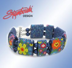 Word Pattern only for peyote Carrier Bead Bracelet - One-drop peyote stitch. Note: peyote stitch instructions are not included. Basic knowledge of peyote stitch needed to complete. The PDF file contains: • word pattern only • photo of the finished bracelet • suggested 11°