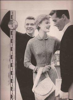 Fashion Editorial - Lillian Bassman Junior Bazaar 1954