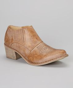 Another great find on #zulily! Tan Andy Bootie by Coconuts #zulilyfinds