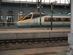 Czech Railroad CD-Pendolino in Prague Main.st.