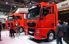 MAN TGX 18.560 con el nuevo motor D38 presentado en la IAA 2014 de Hannover / Cadena de Suministro