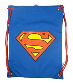 Saquito merienda Superman. Logo clásico