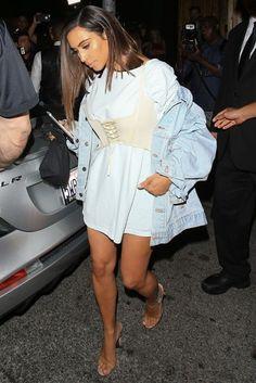 Kim Kardashian's Style & How The Fashion World Fell At Her Feet | Glamour UK