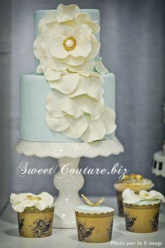 Gâteau Mariage Bloom Wedding Cake