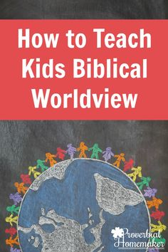 How to Teach Kids Biblical Worldview - tips & resources including Apologia's What We Believe Series for family devotions or homeschooling! via @TaunaM