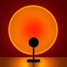 Sunset Lamp - Table Lamp / Sunset Red
