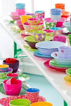 We love melamine!