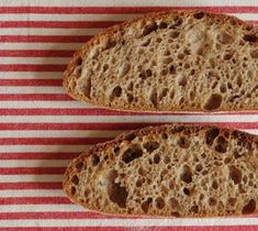 Špaldovo-pšeničný celozrnný chléb | Maškrtnica Home Baking, Russian Recipes, Ciabatta, Sourdough Bread, How To Make Bread, Bread Baking, Bread Recipes, Baked Goods, Side Dishes