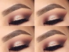 Image result for prom makeup for maroon dress