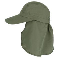 33fbb6ac004 Kenny K Men s Polycotton Baseball Cap with Detachable Neck Shield