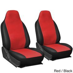 VW VOLKSWAGEN POLO DUNE 04-08 RACING RED SEAT COVERS