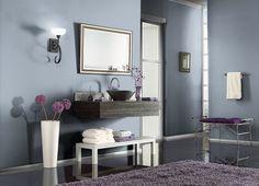 Bathroom Main: Behr BLUE WILLOW(570F-4)