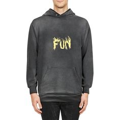 Givenchy Fun Hoodie ($950) ❤ liked on Polyvore featuring men's fashion, men's clothing, men's hoodies, mens cotton hoodies, mens patterned hoodies, mens sweatshirts and hoodies, mens aztec print hoodie and mens hoodies