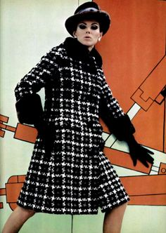 L'Officiel magazine 1967. Pierre Balmain