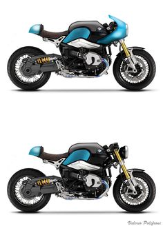 Bmw R nine t Special on Behance