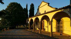 Meravigliosa la #pievedisanleolino a #panzano in #Chianti!