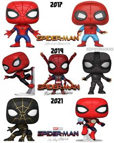 All Spiderman Movies, Funko Pop Spiderman, Funko Pop Vinyl, Marvel Art, Deadpool, Avengers, Ring, Instagram, Jackets