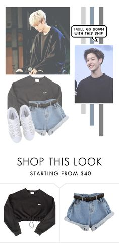 """Mark Tuan"" by lazy-alien ❤ liked on Polyvore featuring NIKE, adidas Originals, mark, GOT7 and marktuan"