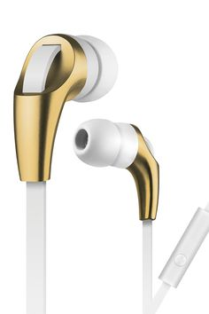 Microphone Elements Earbuds - Champagne by Merkury Innovations on @nordstrom_rack Sponsored by Nordstrom Rack.