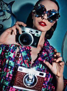 Мила Цветкович (Mina Cvetkovic) для Harpers Bazaar Germany