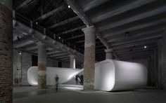 The Changing Room | UNStudio | so cool.