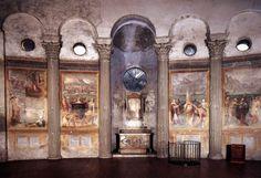 Niccolò Circignani detto il Pomarancio & Matteo da Siena, Chiesa di Santo Stefano Rotondo, Storie di Martiri, Martyrologium (1582)