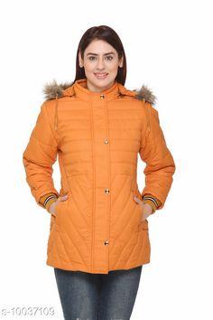 Jackets Womens Detachable Hood Orange Jacket Fabric: Nylon Sleeve Length: Long Sleeves Pattern: Self-Design Multipack: 1 Sizes:  XL (Bust Size: 42 in Length Size: 30 in)  L (Bust Size: 40 in Length Size: 29 in)  M (Bust Size: 38 in Length Size: 29 in)  XXL (Bust Size: 44 in Length Size: 31 in)  XXXL (Bust Size: 46 in Length Size: 31 in)  Country of Origin: India Sizes Available: M, L, XL, XXL, XXXL   Catalog Rating: ★4 (435)  Catalog Name: Trendy Elegant Women Jackets & Waistcoat CatalogID_1794511 C79-SC1023 Code: 5331-10037109-2973