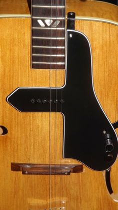 McCarty type pickguard with surface mount P90 type pickup, controls and jack mounted on guard (jack is underneath)  631 896 6212 for more details.