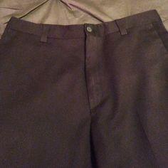 Kenneth Cole Reaction men's Black Slacks Kenneth Cole Men's Black Pinstripe Slacks. 32x30 Worn once. Color is more true in second picture. Kenneth Cole Reaction Pants Dress