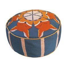 FOX POUFFE BEANBAG by OrwellandGoode on Etsy, £95.00