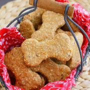 The Comfort of Cooking » Homemade Peanut Butter-Bacon Dog Treats
