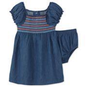 Chambray Dress – Girls 6m-24m