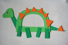 This simple Dinosaur craft is brought to you today by the letter D and the shapes Rectangle and Triangle, with special thanks to our unde...
