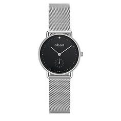 Women Wrist Watches a.b.art FR31-135-6S Sapphire Crystal ... Black 5b46a2bca0