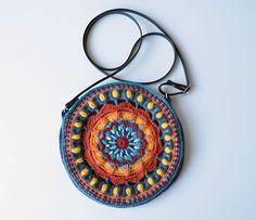 Kaleidoscope Mandala Bag crochet pattern by Lilla Bjorn Crochet