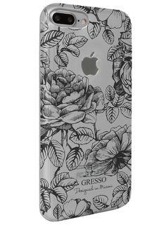 Harmony - Black Roses Snap-On Case - iPhone 7 Plus